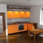 Цвет-эко ночь, стиль-модерн, угловая, кухня Карина