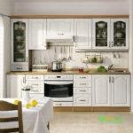 Кухня цвет - зеленый, стиль - модерн, тип - прямая, кухня модерн К45