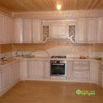 кухня цвет-белая, стиль-классический, тип-п-образная, кухня-классическая К33-1