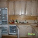 кухня цвет-белая, стиль-классический, тип-п-образная, кухня-классическая К33-2