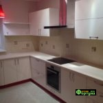 кухня цвет-белая, стиль-модерн, тип-угловая, кухня модерн М61