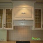 кухня цвет-белый, стиль-классический, тип-прямая, классическая К10-2
