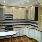 кухня цвет-белый, стиль-классический, тип-угловая, кухня-классическая К25-1
