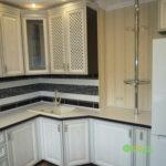 кухня цвет-белый, стиль-классический, тип-угловая, кухня-классическая К25-2