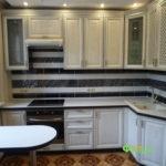кухня цвет-белый, стиль-классический, тип-угловая, кухня-классическая К25-3