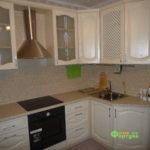 кухня цвет-белый, стиль-классический, тип-угловая, кухня классическая К36