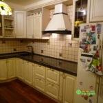 кухня цвет-белый, стиль-классический, тип-угловая, кухня классическая К38-1