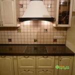 кухня цвет-белый, стиль-классический, тип-угловая, кухня классическая К38-2