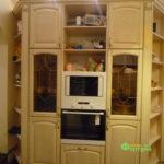 кухня цвет-белый, стиль-классический, тип-угловая, кухня классическая К38-3