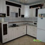 Кухня цвет-белый, стиль-классический, тип-угловая, кухня классическая К5