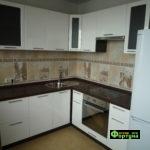 кухня цвет-белый, стиль-модерн, тип-угловая, кухня модерн М56