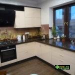 кухня цвет-бежевый, стиль-модерн, тип-угловая, кухня модерн М25-2
