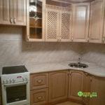 кухня цвет-дуб античный, стиль-классический, тип-угловая, кухня классическая К55
