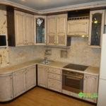 кухня цвет-кантри, стиль-классический, тип-угловая, кухня-классическая К28