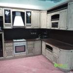 Кухня цвет-кантри, стиль-классический, тип-угловая, кухня классическая К4