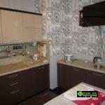 кухня цвет-коричневый, стиль-модерн, тип-угловая, кухня модерн М62-1