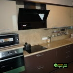 кухня цвет-коричневый, стиль-модерн, тип-угловая, кухня модерн М62