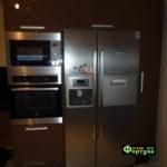 кухня цвет-коричневый, стиль-модерн, тип-угловая, кухня модерн М67-1