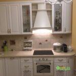 кухня цвет-слоновая кость, стиль-классический, тип-радиусная, кухня-классическая К29-2