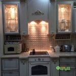 Кухня цвет-слоновая кость, стиль-классический, тип-угловая, кухня классическая К58-2