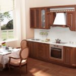 цвет- античный, стиль- классика, тип- прямая, кухня Глория