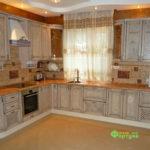 Кухня цвет-кантри, стиль-классический, тип-угловая, кухня Массив1