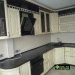 кухня цвет-кантри, стиль-кантри, тип-радиусные, кухня кантри К13